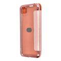 forcell electro book flip case for huawei y5p rose gold extra photo 1