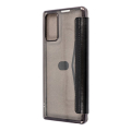 forcell electro book flip case for samsung note 20 black extra photo 1