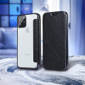 forcell electro book flip case for iphone 12 pro max black extra photo 2
