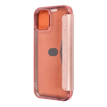 forcell electro book flip case for iphone 12 pro max rose gold extra photo 1