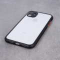 defender hybrid back cover case for iphone 12 pro max 67 black extra photo 4