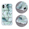 geometric marmur back cover case for iphone 12 mini 54 green extra photo 1