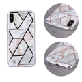 geometric marmur back cover case for iphone 12 mini 54 pink extra photo 1