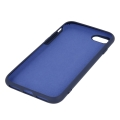 silicon back cover case for iphone 12 iphone 12 pro 61 dark blue extra photo 1