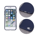 silicon back cover case for iphone 12 iphone 12 pro 61 dark blue extra photo 2