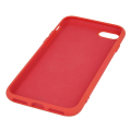 silicon back cover case for iphone 12 mini 54 red extra photo 1