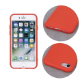 silicon back cover case for iphone 12 mini 54 red extra photo 2