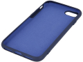 silicon back cover case for iphone 12 pro max 67 dark blue extra photo 1