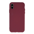 silicon back cover case for iphone 12 pro max 67 burgundy extra photo 1