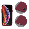 silicon back cover case for iphone 12 pro max 67 burgundy extra photo 2