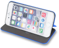 smart diva flip case for iphone 12 pro max 67 navy blue extra photo 1