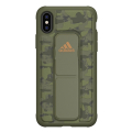 adidas sp grip back cover case stand camo for iphone x xs tech olive extra photo 1