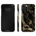 ideal of sweden back cover case for iphone 12 pro max golden smoke marble extra photo 1