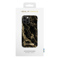 ideal of sweden back cover case for iphone 12 pro max golden smoke marble extra photo 2