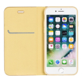 luna book flip case for apple iphone 12 12 pro gold extra photo 1