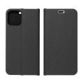 luna carbon flip case for apple iphone 12 mini black extra photo 1