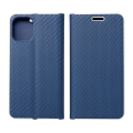luna carbon flip case for apple iphone 12 pro max blue extra photo 1
