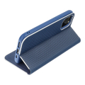 luna carbon flip case for apple iphone 12 pro max blue extra photo 4