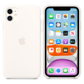 apple mwvx2 iphone 11 silicone case white extra photo 1