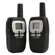 olympia 1208 pmr walkie talkie 8km black photo
