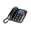 thomson th 525fblk corded home phone with large buttons photo