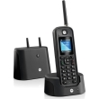 motorola o201 outdoor dect phone black photo