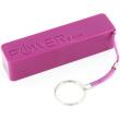 xlayer powerbank colour line purple 2600mah photo