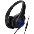 audio technica ath ax5is sonicfuel over ear headphones for smartphones black photo