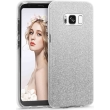forcell shining case for samsung galaxy s8 plus silver photo