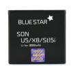 blue star battery for sony ericsson vivaz u5 vivaz pro x8 st15i sk17i st17i w19i 1000mah li ion photo