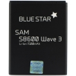 blue star premium battery for samsung wave 3 s8600 galaxy w i8150 xcover s5690 1500mah photo