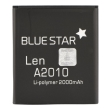 blue star premium battery for lenovo a2010 2000mah li poly photo