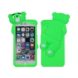 greengo silicon 3d back cover case mr bear for sony xperia m4 aqua green photo