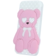 greengo silicon 3d back cover case love bear for huawei y6 ii white 5900495521903 photo
