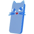 greengo silicon 3d back cover case kitten for zte a452 blue 5900495523129 photo