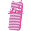 greengo silicon 3d back cover case kitten for zte a452 pink photo