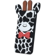 greengo silicon 3d back cover case giraffe 2 for zte a452 black 5900495523815 photo