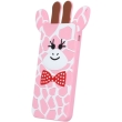 greengo silicon 3d back cover case giraffe 2 for zte a452 pink 5900495523839 photo