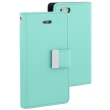 mercury goospery rich diary flip case apple iphone 7 mint photo