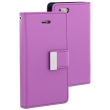 mercury goospery rich diary flip case apple iphone 7 purple photo