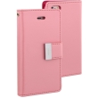 mercury goospery rich diary flip case apple iphone 7 plus pink hot pink photo