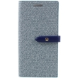 mercury goospery milano diary flip case apple iphone 7 blue photo