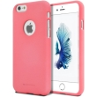 mercury goospery soft feeling logo back cover case iphone 7 pink photo