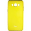 roar colorful jelly case for samsung galaxy j5 2016 j510 yellow photo