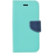 fancy book flip case for apple iphone x mint navy photo