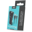 setty usb car charger 1a micro usb cable black photo