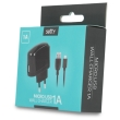 setty usb wall charger 1a micro usb cable black photo