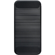 forcell carbon back cover case for lg q6 black photo