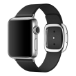 apple watch 38mm mjyl2ty stainless steel modern medium black photo