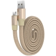 devia ring y1 micro usb cable 080m champagne gold photo